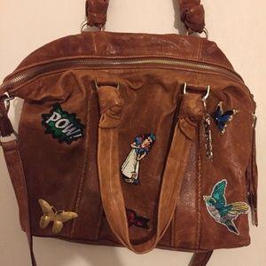 COLE HAAN Crossbody bag W/ Add On Mix Media